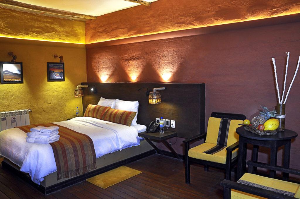 Bolivia - Uyuni - 1561 - Room interior with Bed