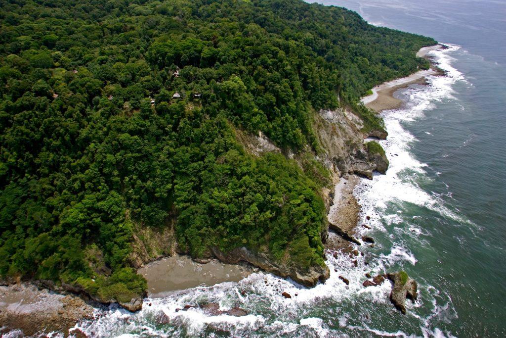 Costa Rica - 1570 - Coastline From Above