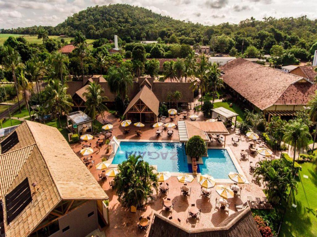 Brazil - 1569 - Bonito - Zagaia Eco Resort Hotel Surrounding Pool Area Panoramic