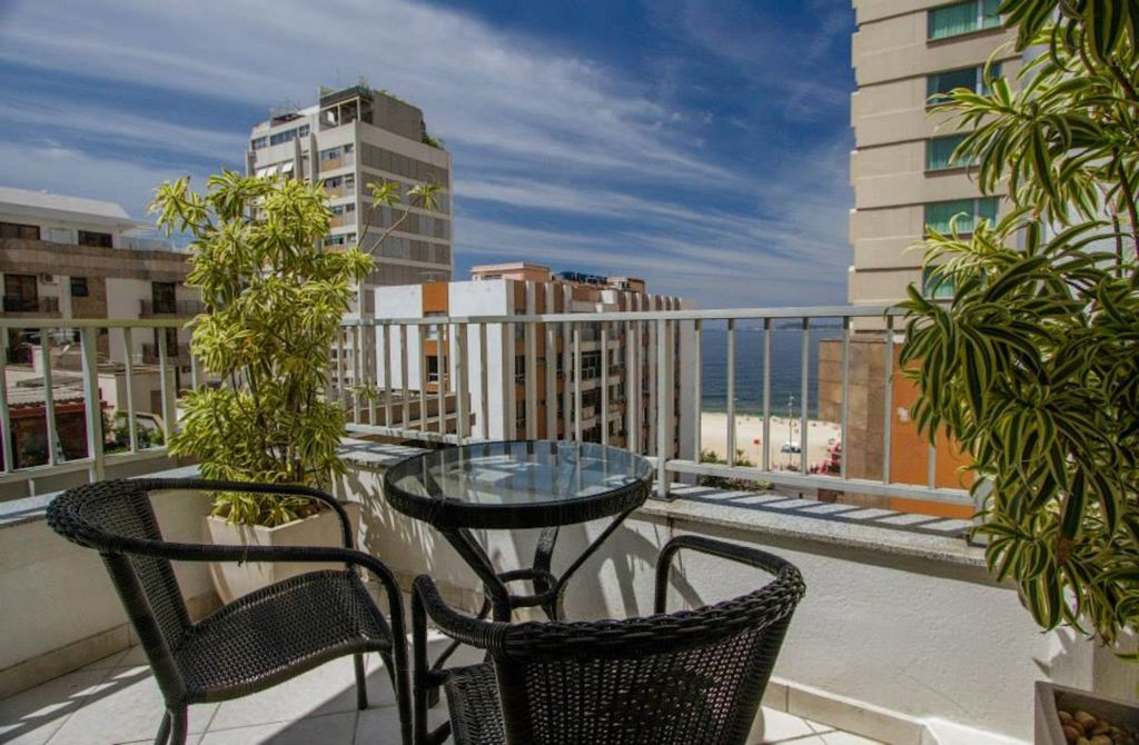 Brazil - Rio de Janeiro - 1569 - Ipanema Inn Balcony Overlooking City