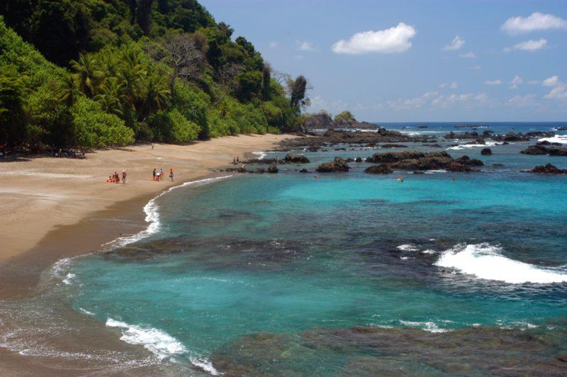 Costa Rica - 1570 - Aguila de Osa Caño Island Beach Waves