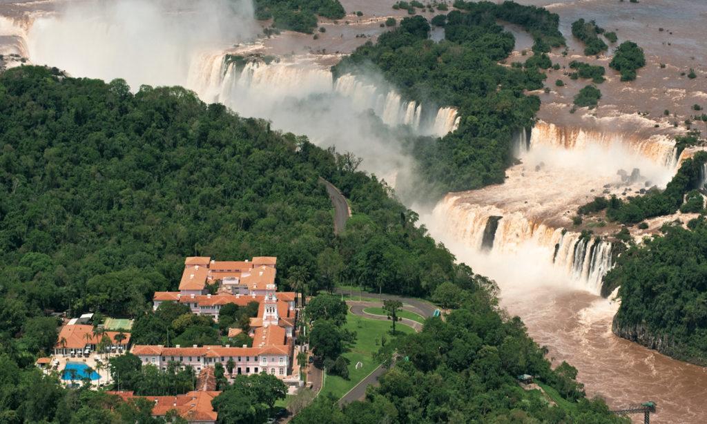 Brazil - Iguazu Falls - 1584 - Belmond Cataras National Park Iguazu Waterfall Rainbow Landscape
