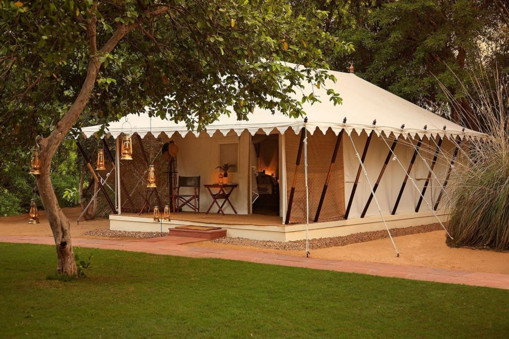India - Rajasthan - 1556 - Sher Bagh Ranthambhore - Exterior Accommodation