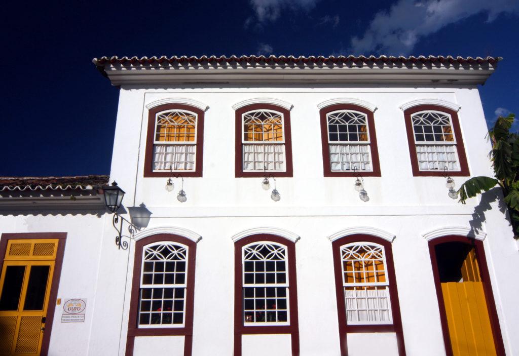 Brazil - Paraty - 1569 - Pousada do Ouro Hotel Colonial Exterior