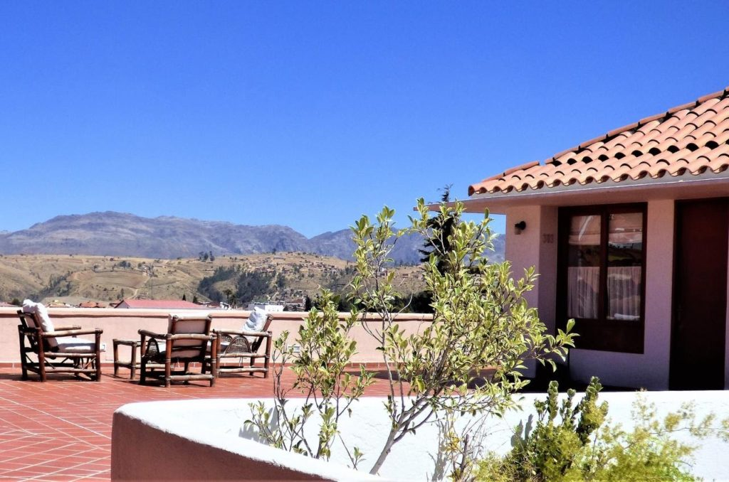 Bolivia - Sucre - 1561 - Villa Antigua Hotel View Exterior