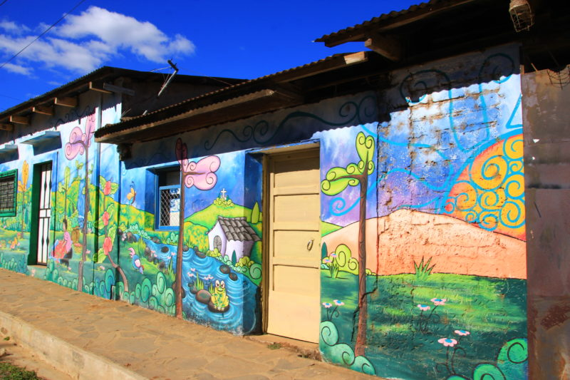 Essential El Salvador - 10024 - Street Art - Landscape paintings