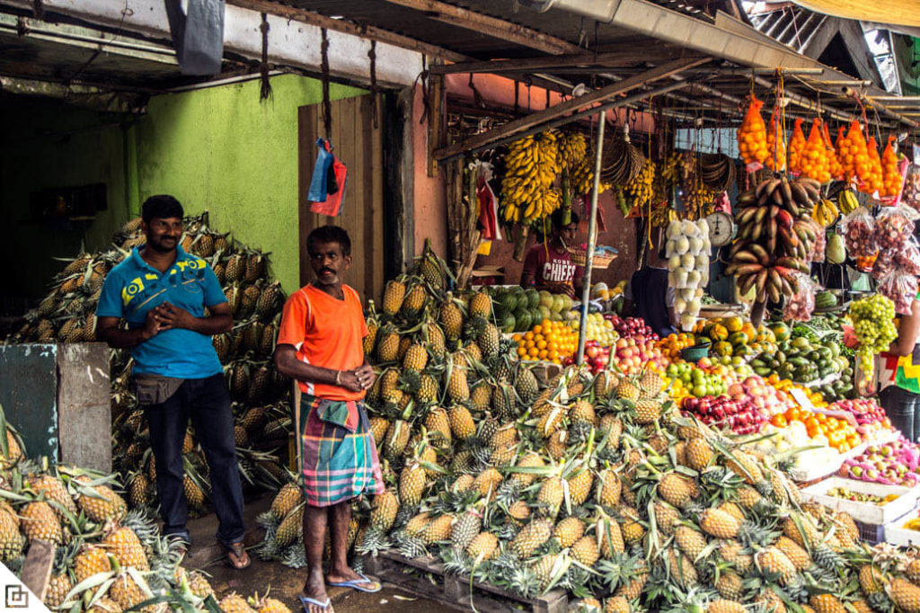 Exquisite Sri Lanka - 1567 - Negombo Local Market Fruit Stall