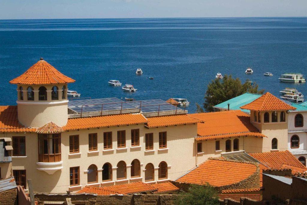 Bolivia - Copacabana - 1561 - Hotel Rosario Lago Titicaca Lake Hotel