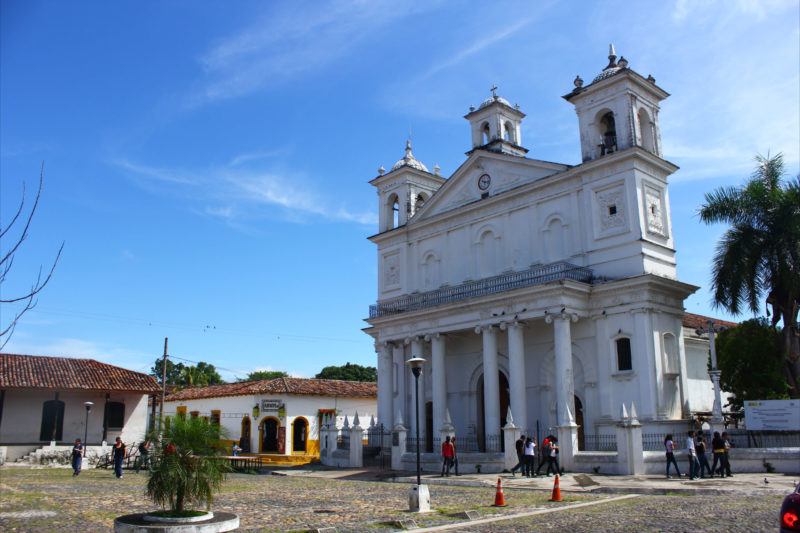 Complete El Salvador Experience - 10024 - Santa Lucia Church Suchitoto Exterior