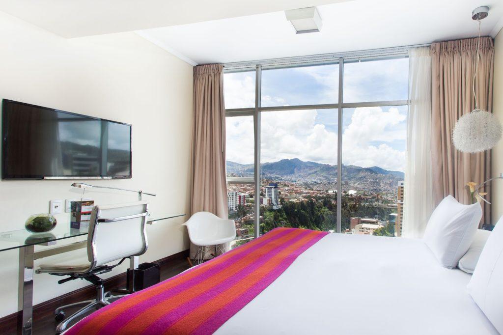 Bolivia - La Paz - 1561 - Hotel Stannum Hotel Room View