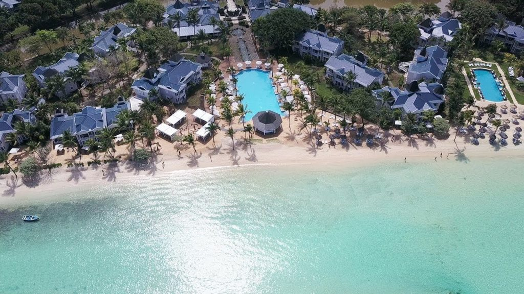 Mauritius - South Coast - 3996 - Heritage Telfair Resort & Spa - Drone view from above