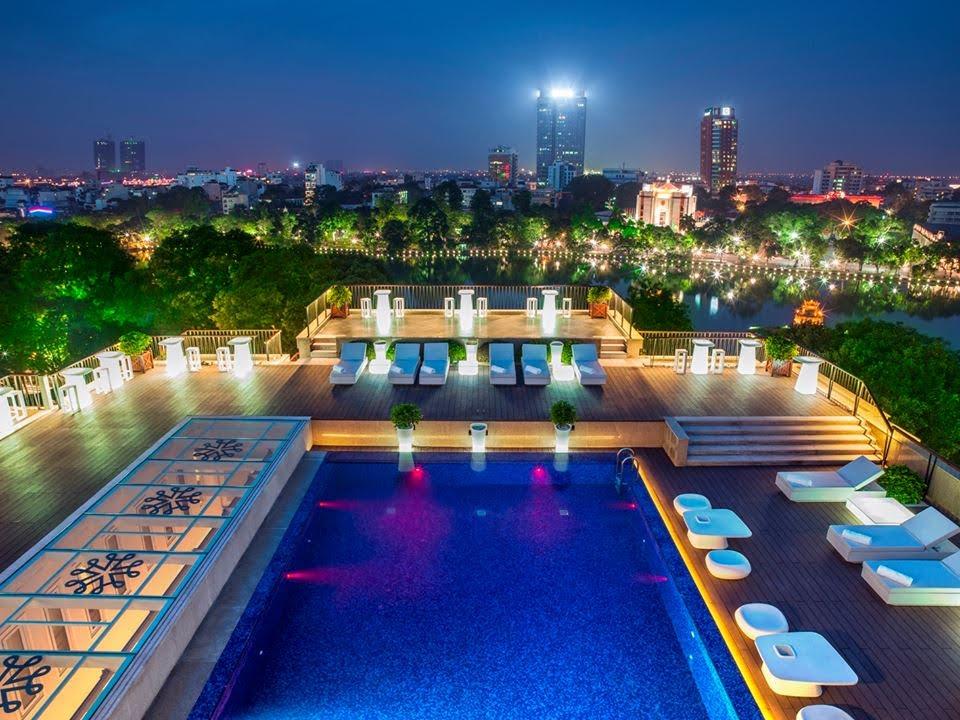 Vietnam - Hanoi - 16103 - Apricot Hotel -Swimming Pool