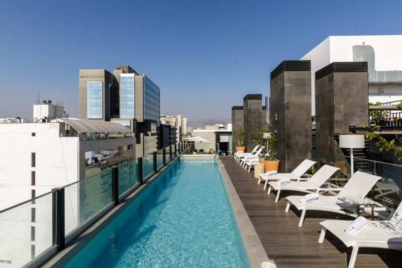 Peru - Lima - 1559 - Innside Lima Miraflores Roof Top Swimming Pool
