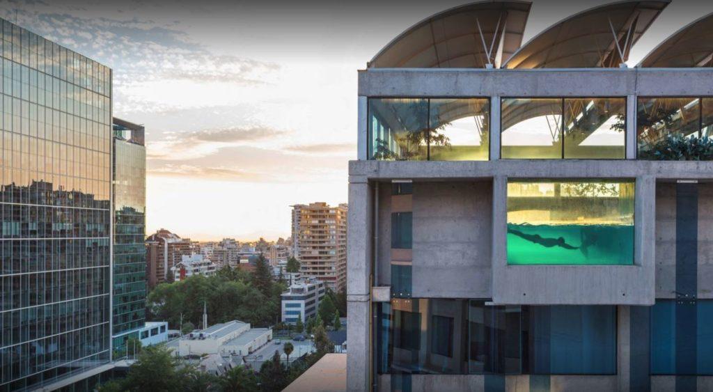 Chile - Santiago - 1560 - Hotel Marina las Condes Exterior