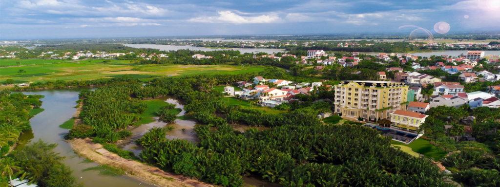 Vietnam - Hoi An - 16103 - Resort & Spa from Above