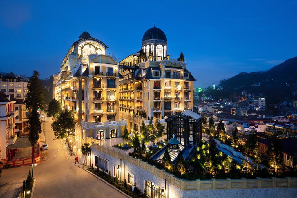 Vietnam - Sapa - 16103 - Hotel de la Coupole Mgallery Sapa view from above