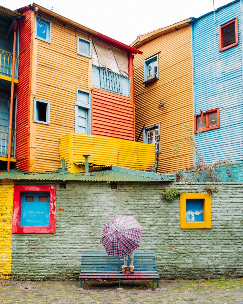 Argentina - 1584 - Caminito La Boca Neighbourhood - Half Day City Tour Buenos Aires - Colourful Housing