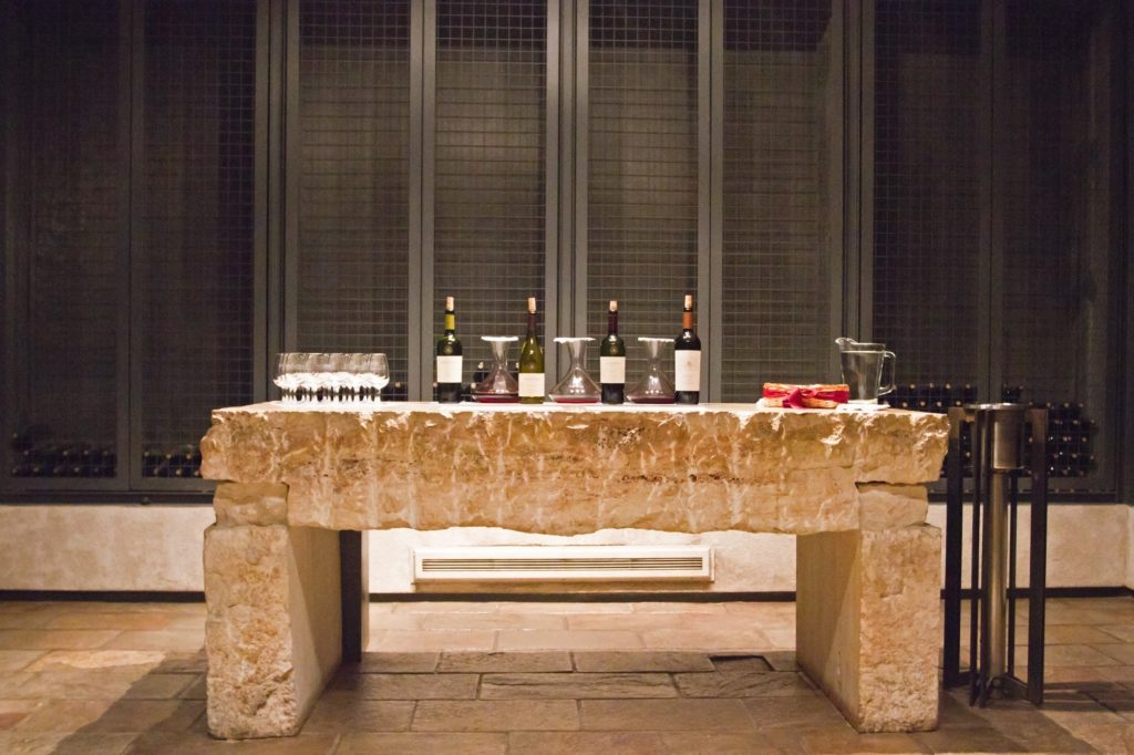 Argentina - 1584 - Full day Wineries - Uco Valley Salentein Winery - Mendoza - Wine table