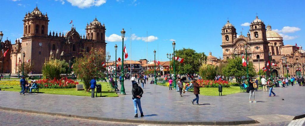 Peru - 1559 - Cusco City - Street Scene