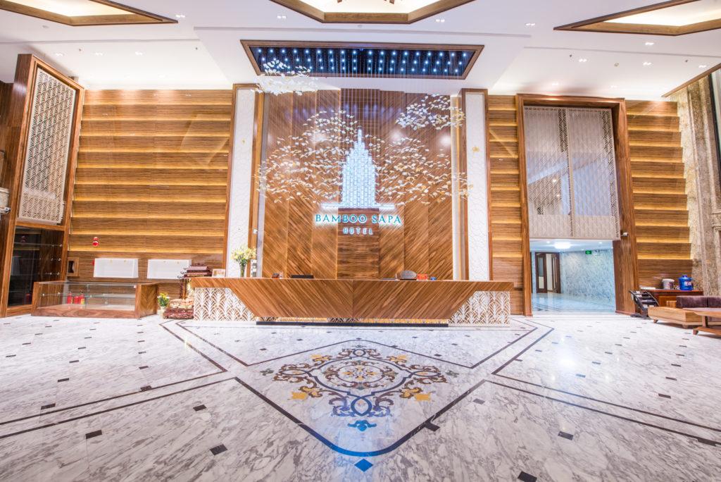 Vietnam - Ho Chi Minh City - 16103 - Bamboo Sapa Hotel lobby