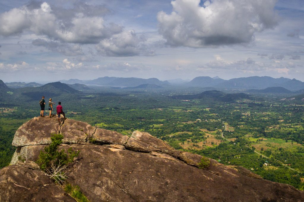 Sri Lanka Wildlife Adventure - 1567 - Morning Trekking Monkey Mountain - Views from the top