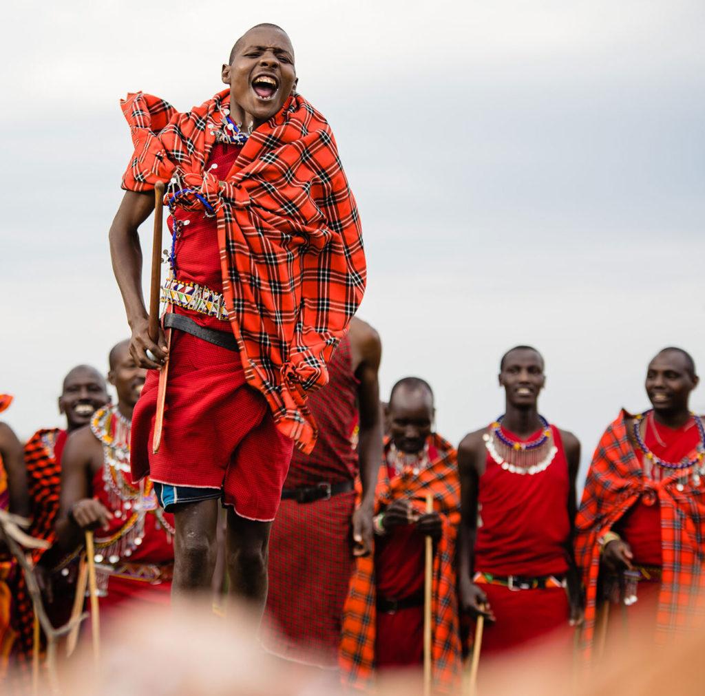 Kenya - 12890 - Renewal - Ceremony Mara - Masai Jumping