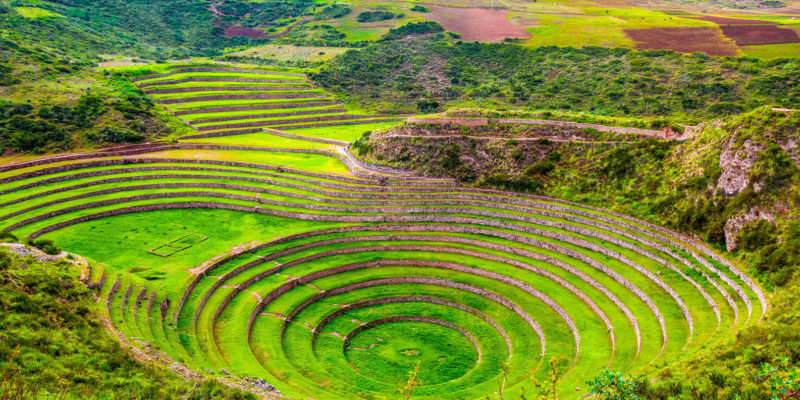 Peru - 1559 - Sacred Valley - Moray - Amphitheatre Ruins