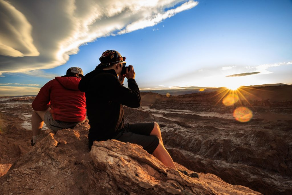 Chile - 1560 - San Pedro de Atacama - Moon Valley Sunset