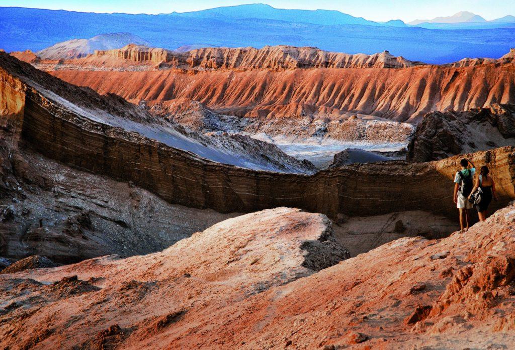 Chile - 1560 - San Pedro de Atacama Moon Valley Landscape