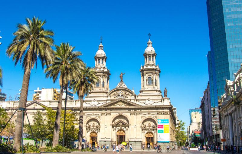 Chile - 1560 - Santiago Metropolitana Cathedral