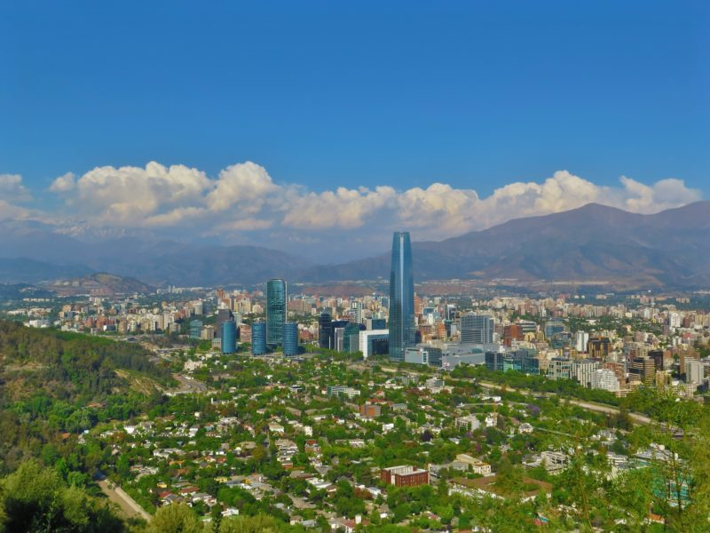 Chile - 1560 - Santiago - From Above