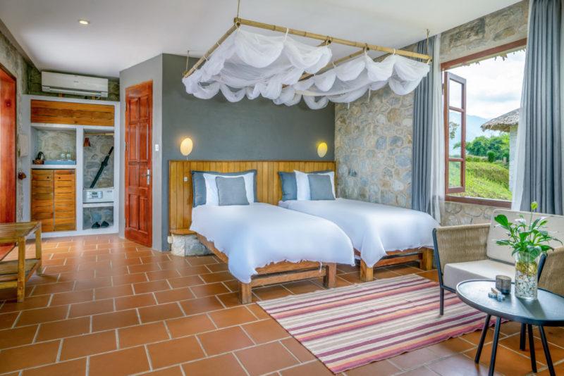 Vietnam - Sapa - 16103 - Bungalow Room