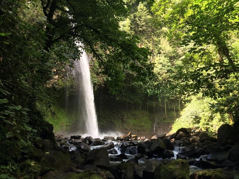 Costa Rica Tortuguero and Rainforest - 10024 - Arenal Waterfall