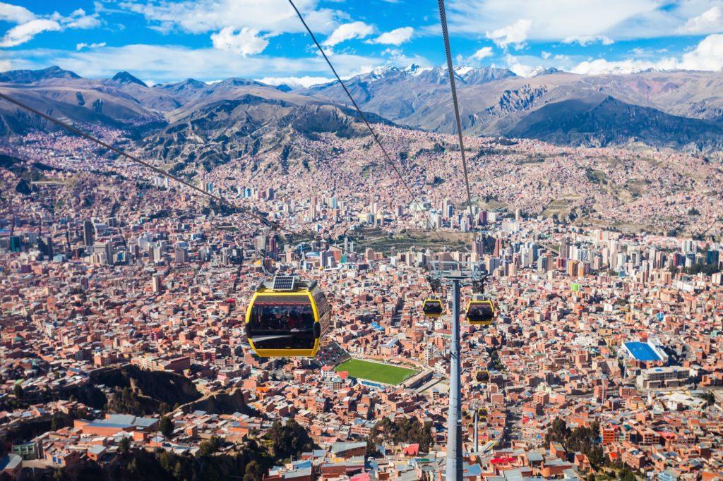 Bolivia - 1561 - Community Program - La Paz Cable Car
