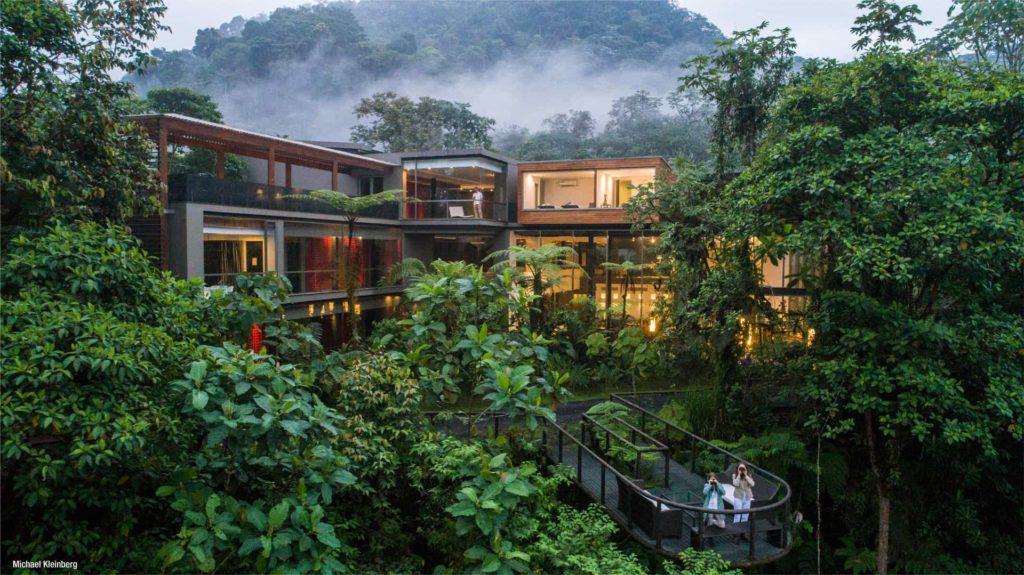 Ecuador - 1557 - Adventure Experience - Mashpi Lodge Exterior