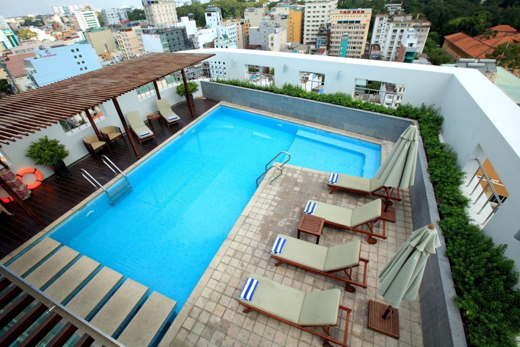 Vietnam - Ho Chi Minh City - 16103 - Rooftop pool