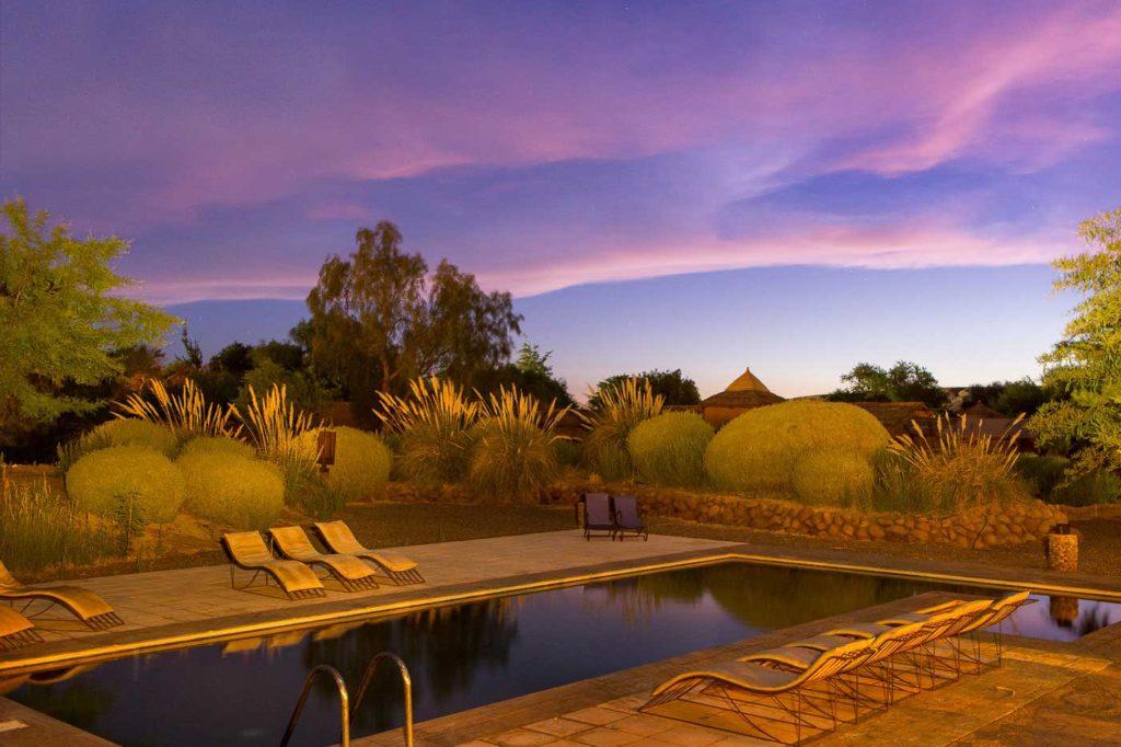 Chile - San Pedro de Atacama - 1570 - Altiplanico Atacama - Swimming Pool