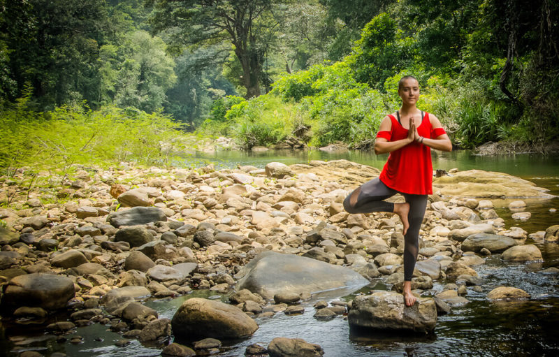 Sri Lanka Wellness Experience -1567 - Santani Yoga - Riverbed Experience