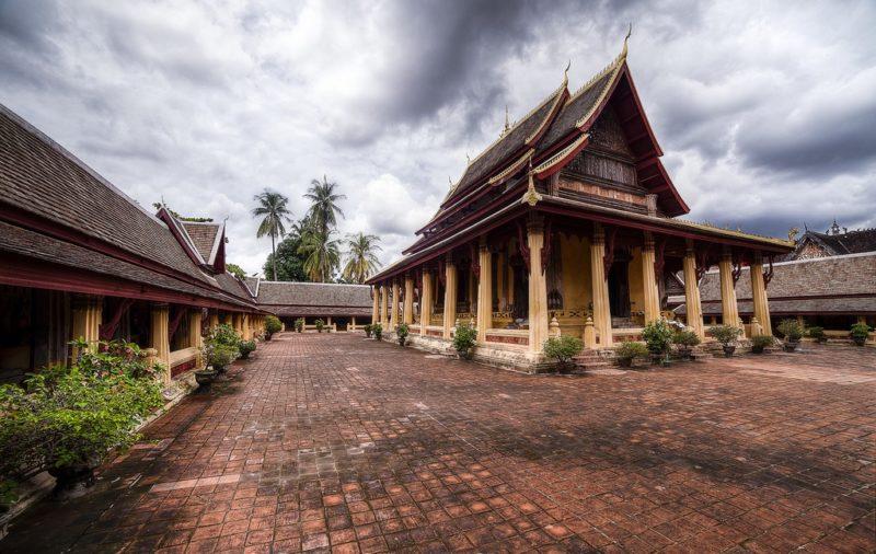 Vientiane - Laos - 17089 - Buddhist Temple