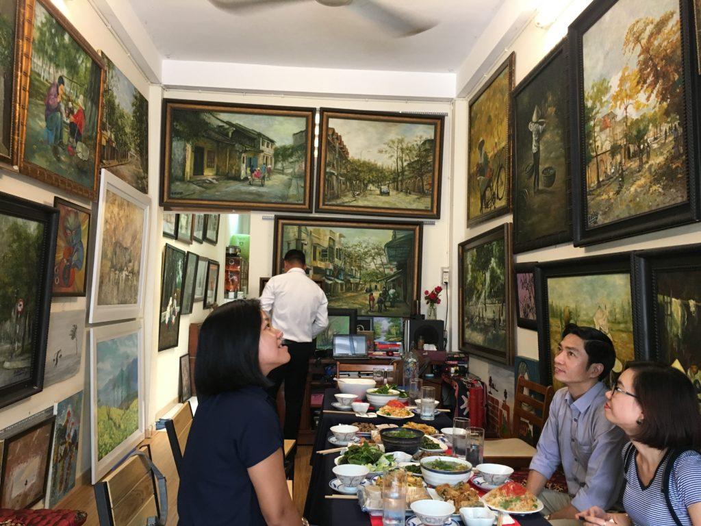 Saigon - Vietnam - 16103 - Local Art Gallery