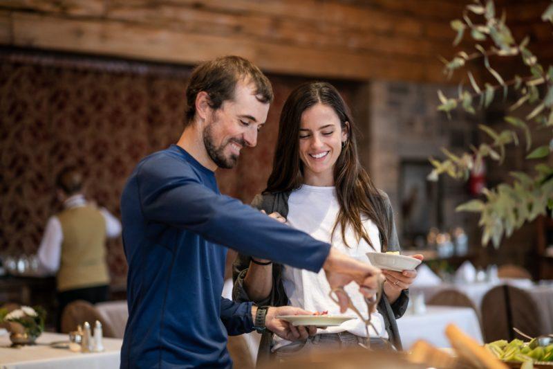 Argentina - 1584 - Breakfast at Llao Llao Hotel Bariloche