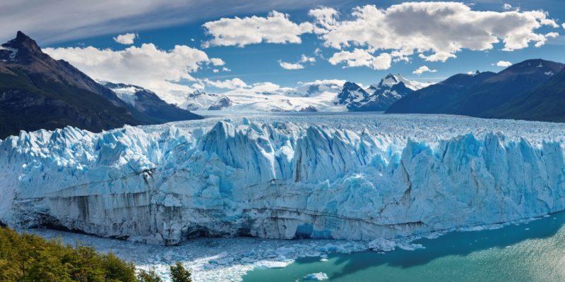 Argentina - 1584 - Perito Moreno Glacier, Patagonia, Argentina - Panoramic View - Ice Sheets