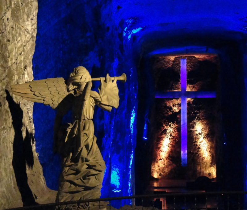 Columbia - 1558 - Bogota Surroundings Salt Cathedral of Zipaquira Cave Underground
