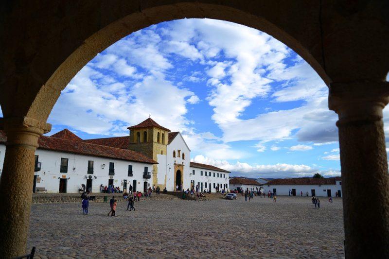 Colombia - 1558 - Bogota Villa de leyva City surroundings