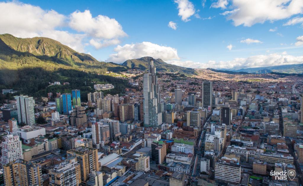 Colombia - 1558 - Bogota City Panoramic Landscape
