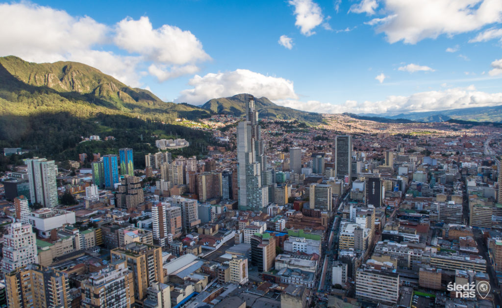 Colombia - 1558 - Bogota City Panoramic Landscape