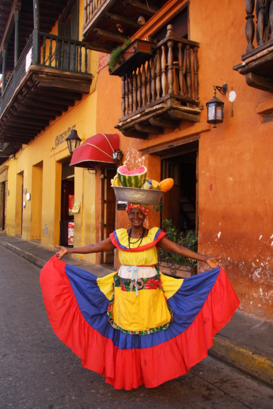 Colombia - 1558 - Cartagena Palanquera Colourful Food Culinary Gastronomic Experience