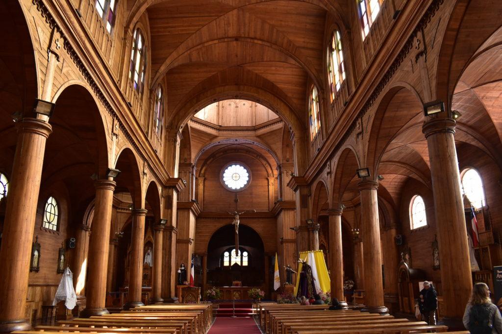 Chile - 1560 - Castro Church Interior Architecture