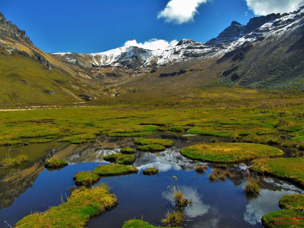 Colombia - 1558 - Coffee Cultural Landscape Otun Lagoon Mountain Range Landscape