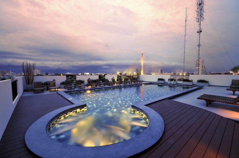 Thailand - Bangkok - 18264 - Rooftop Pool and Jacuzzi